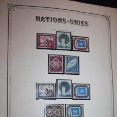 Sellos: COLECCION COMPLETA NACIONES UNIDAS ONU 1951/96 N. YORK, GINEBRA Y VIENA. SELLOS NUEVOS SINFIJASELLOS. Lote 63802611