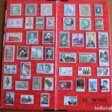 Sellos: COLECCION COMPLETA DE 45 SELLOS METALICOS DE EL SELLO EN CATALUNYA DE EL MUNDO (RARA). Lote 64960967