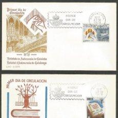 Sellos: ESPAÑA COLECCION 72 SOBRES PRIMER DIA SE ADJUTAN ESCANERS DE TODOS. Lote 70679345