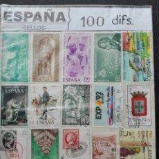 Sellos - 100 sellos diferentes - 73980618