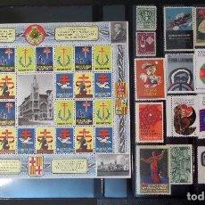 Sellos: COLECCIÓN DE VIÑETAS DE BARCELONA. NUEVAS SIN CHARNELA **. Lote 81030192