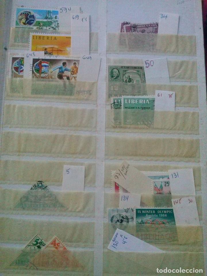 Sellos: LIBERIA , GRAN LOTE SELLOS EN CLASIFICADOR - Foto 9 - 90353200