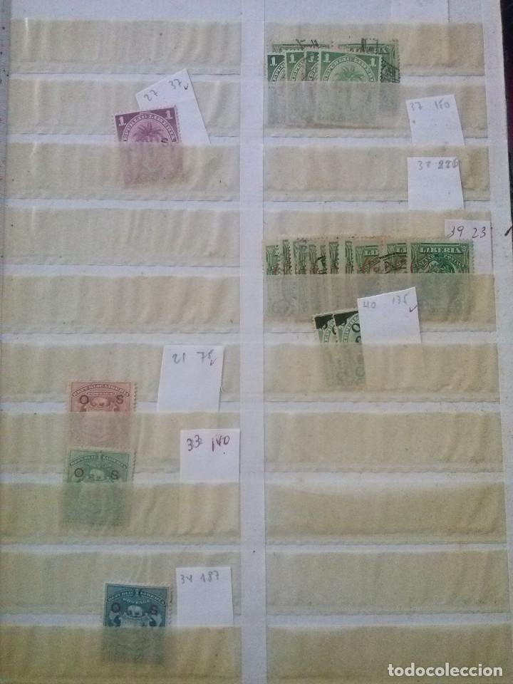 Sellos: LIBERIA , GRAN LOTE SELLOS EN CLASIFICADOR - Foto 12 - 90353200