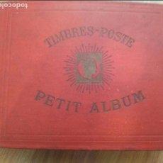 Sellos: ALBUM DE SELLOS PETIT ALBUM TIMBRES - CON SELLOS DEL MUNDO. AÑOS 1900-30. VER FOTOS!!!APROX 300 PAG. Lote 91627510