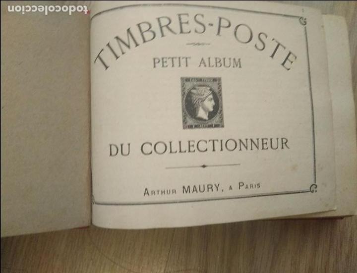 Sellos: ALBUM DE SELLOS PETIT ALBUM TIMBRES - CON SELLOS DEL MUNDO. AÑOS 1900-30. VER FOTOS!!!APROX 300 PAG - Foto 2 - 209116172