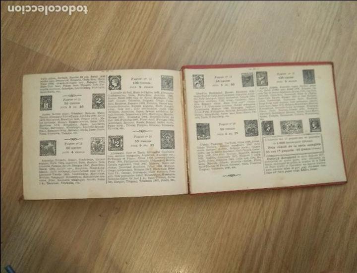 Sellos: ALBUM DE SELLOS PETIT ALBUM TIMBRES - CON SELLOS DEL MUNDO. AÑOS 1900-30. VER FOTOS!!!APROX 300 PAG - Foto 12 - 209116172