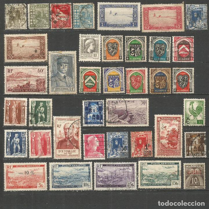 ARGELIA COLONIA FRANCESA CONJUNTO DE SELLOS NUEVOS */USADOS (Sellos - Colecciones y Lotes de Conjunto)