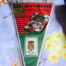 Sellos: LOTE DE 37 BANDERINES CON SELLOS DE PRIMER DÍA, PROVINCIAS ESPAÑOLAS. Lote 97361272