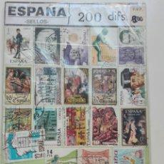 Sellos: 200 SELLOS ESPAÑA DIFERENTES. Lote 100130231