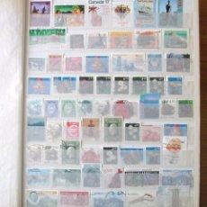 Sellos: COLECCION DE SELLOS MUNDIAL USADOS MONTADA EN CLASIFICADOR SE ADJUNTAN FOTOGRAFIAS DE TODOS. Lote 102697559