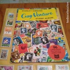 Selos: ALBUM SELLOS GAY VENTURE VACIO STANLEY GIBBONS 1972 72. Lote 103302323