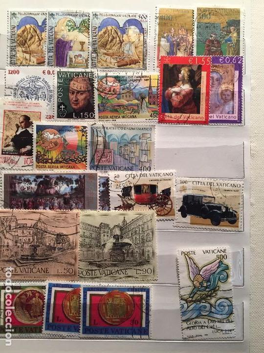 COLECCIÓN DE UNOS 1125 SELLOS USADOS DIFERENTES (Sellos - Colecciones y Lotes de Conjunto)