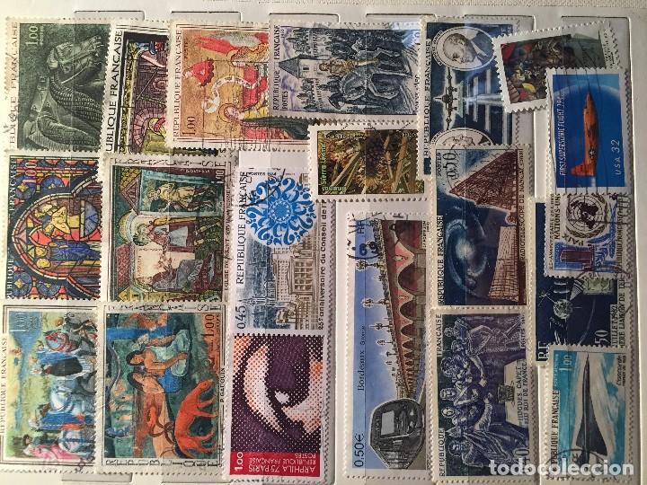 Sellos: Colección de unos 1125 sellos usados diferentes - Foto 2 - 103838839