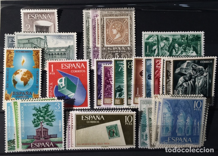 9 SERIES SELLOS NUEVOS AÑOS SESENTA (Sellos - Colecciones y Lotes de Conjunto)