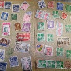 Briefmarken - 55 sellos variados - 103909955