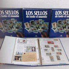 Sellos: COLECCION SELLOS DEL MUNDO - PLANETA AGOSTINI. Lote 103981003