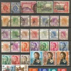 Sellos: HONG KONG COLONIA BRITANICA CONJUNTO DE SELLOS USADOS ANTIGUOS. Lote 106557051