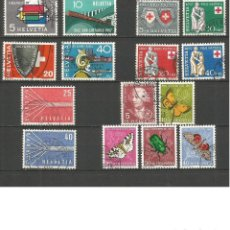 Sellos: SUIZA AÑO 1957 COMPLETO VALOR CAT. 24,75 EUROS. Lote 106924715