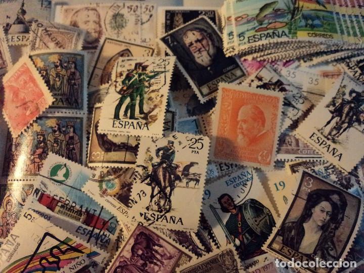 Sellos: mas de 500 sellos usados de españa - Foto 2 - 108715955