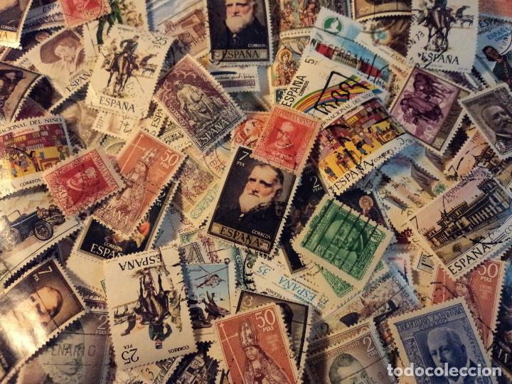Sellos: mas de 500 sellos usados de españa - Foto 3 - 108715955