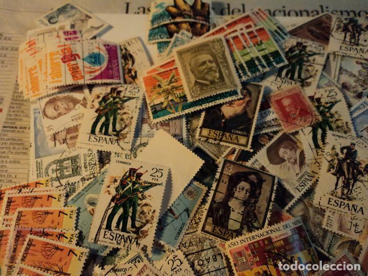 Sellos: mas de 500 sellos usados de españa - Foto 5 - 108715955
