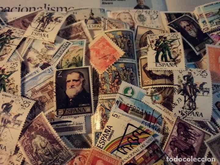 Sellos: mas de 500 sellos usados de españa - Foto 8 - 108715955
