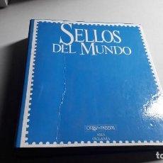 Selos: SELLOS DEL MUNDO..ASIA-OCEANIA...ORBIS-FABBRI.... Lote 108788823