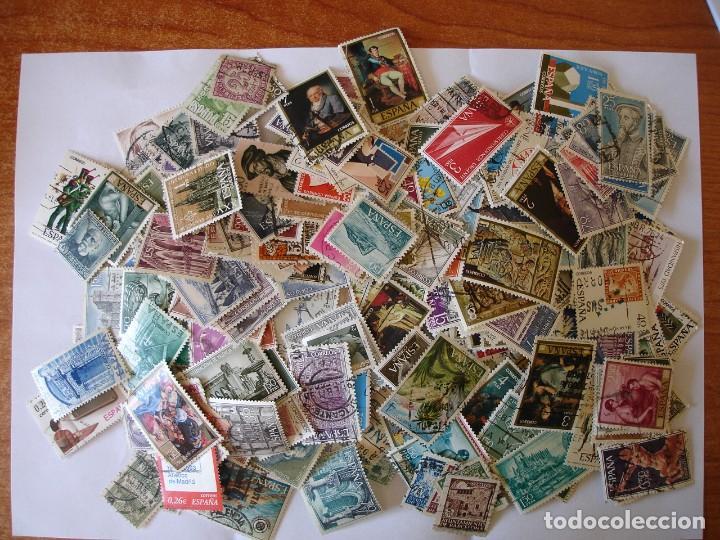 1500 SELLOS DIFERENTES USADOS DE ESPAÑA (Sellos - Colecciones y Lotes de Conjunto)
