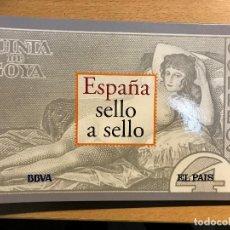 Sellos: ESPAÑA SELLO A SELLO 2003 BBVA - EL PAIS - INCOMPLETA - VER DESCRIPCIÓN. Lote 113537563
