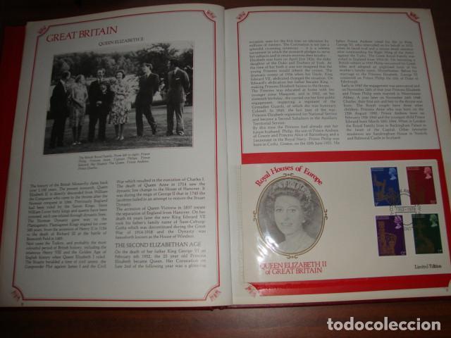 Sellos: CARPETA DE LAS CASAS REALES DE EUROPA EN SOBRES FILATELICOS EDICION LIMITADA - Foto 4 - 114873979