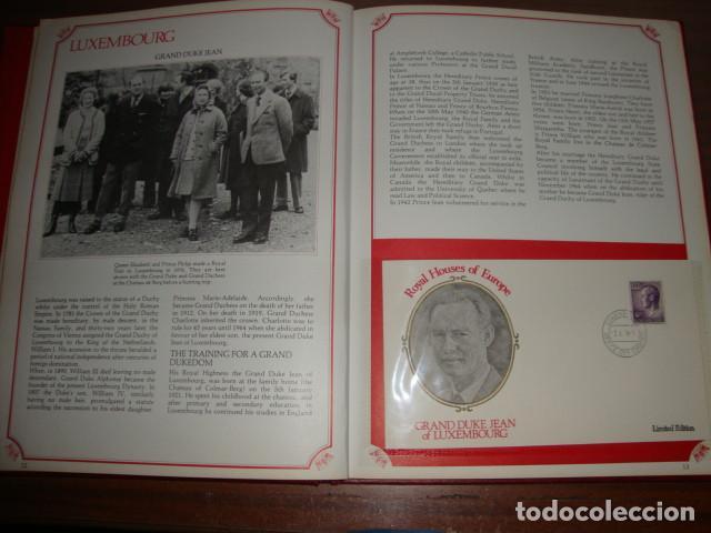 Sellos: CARPETA DE LAS CASAS REALES DE EUROPA EN SOBRES FILATELICOS EDICION LIMITADA - Foto 6 - 114873979