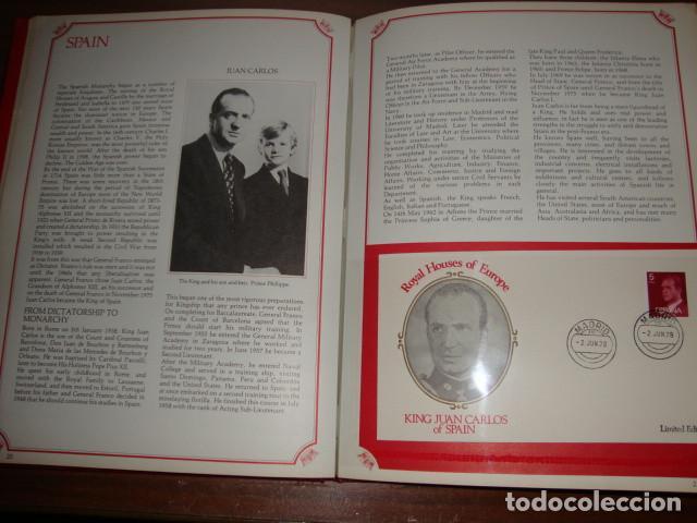 Sellos: CARPETA DE LAS CASAS REALES DE EUROPA EN SOBRES FILATELICOS EDICION LIMITADA - Foto 10 - 114873979