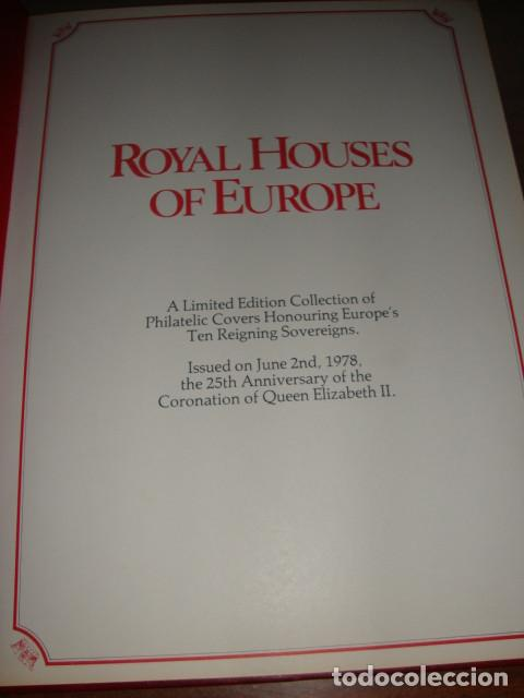 Sellos: CARPETA DE LAS CASAS REALES DE EUROPA EN SOBRES FILATELICOS EDICION LIMITADA - Foto 12 - 114873979