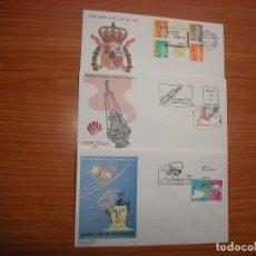 Sellos: ESPAÑA COLECCION DE 53 SOBRES PRIMER DIA DE CIRCULACION. Lote 115127039