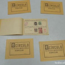 Sellos: CIRCULO FILATELICO Y NUMISMATICO DE BARCELONA . Lote 115135687