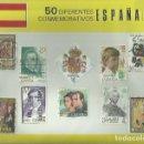 Sellos: ESPAÑA 50 SELLOS DIFERENTES Y CONMEMORATIVOS USADOS. Lote 117644663