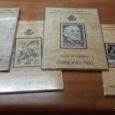 Sellos: COLECCION COMPLETA DE CARPETAS Y LIBROS DE CORREOS ANUALES NUEVOS Y COMPLETOS 1978-2017. Lote 119583943