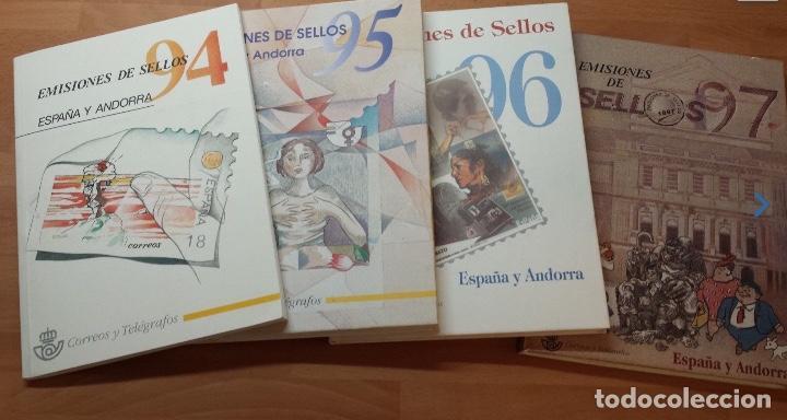 Sellos: COLECCION COMPLETA DE CARPETAS Y LIBROS DE CORREOS ANUALES NUEVOS Y COMPLETOS 1978-2017 - Foto 5 - 119583943