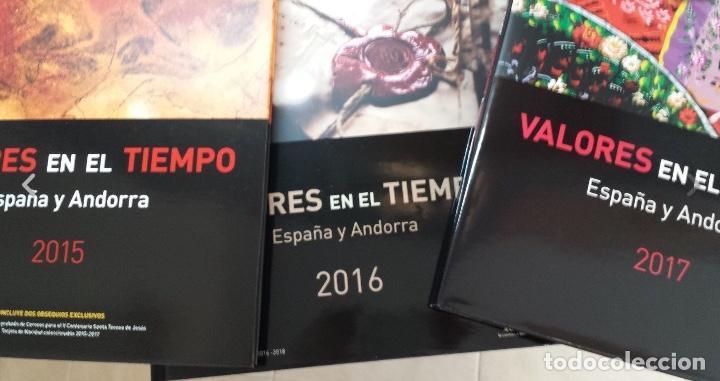 Sellos: COLECCION COMPLETA DE CARPETAS Y LIBROS DE CORREOS ANUALES NUEVOS Y COMPLETOS 1978-2017 - Foto 11 - 119583943