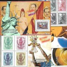 Briefmarken - COLECCION DE 25 HOJITAS BLOQUE DE LA GUERRA CIVIL ESPAÑOLA DE LA COLECCION DEL MUNDO - 47371487