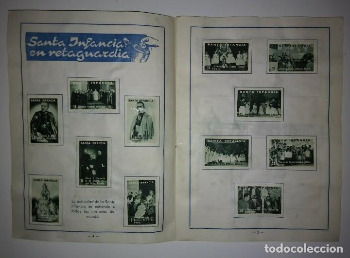 1966 Álbum para sellos. Santa infancia. Número 1. Completo con los 100 sellos - 123581727