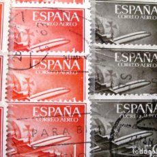 Sellos: LOTE DE 400 SELLOS DE ESPAÑA, 2º CENT., DIFERENTES. LAVADOS.. Lote 127232175