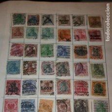 Sellos: 2360 SELLOS PRINCIPALMENTE 1850 1950 DE EUROPA Y ORIENTE. TAL Y COMO SE COLECCIONARON.FOTOS. Lote 127669491