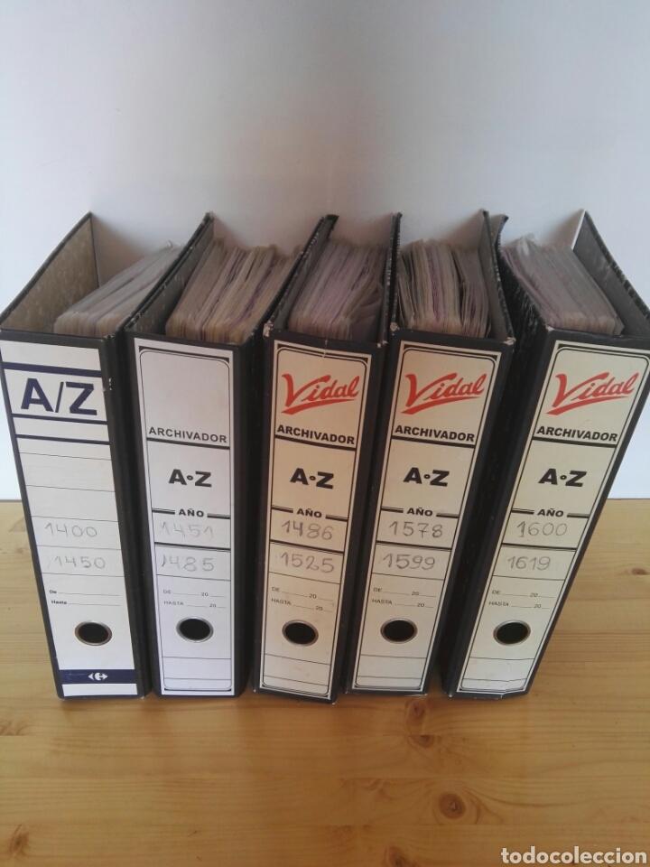 COLECCIÓN DE POSTALES DE PINTURAS DE PINTORES 5 TOMOS (Sellos - Colecciones y Lotes de Conjunto)