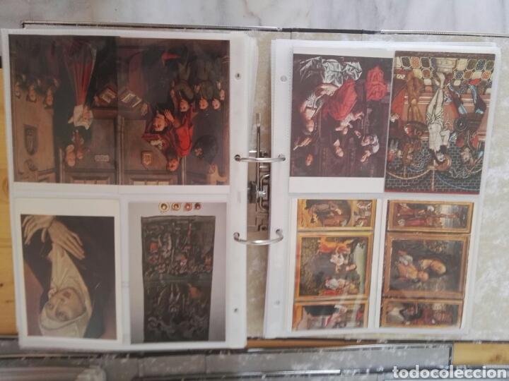 Sellos: Colección de postales de pinturas de pintores 5 tomos - Foto 8 - 129976350