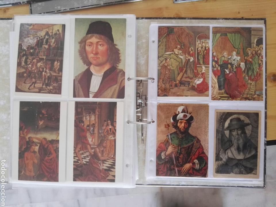 Sellos: Colección de postales de pinturas de pintores 5 tomos - Foto 9 - 129976350