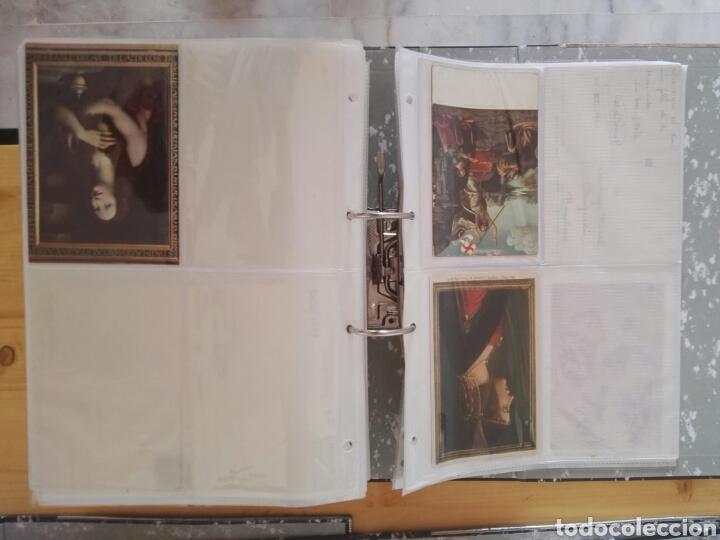 Sellos: Colección de postales de pinturas de pintores 5 tomos - Foto 11 - 129976350