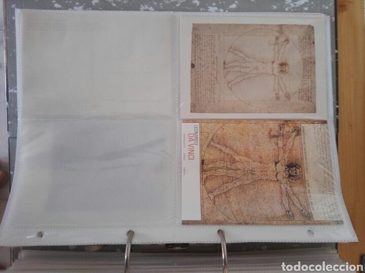 Sellos: Colección de postales de pinturas de pintores 5 tomos - Foto 12 - 129976350