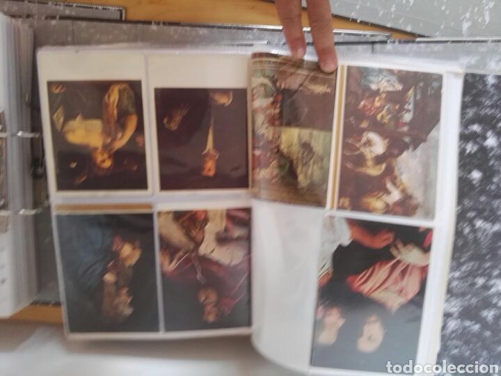 Sellos: Colección de postales de pinturas de pintores 5 tomos - Foto 15 - 129976350