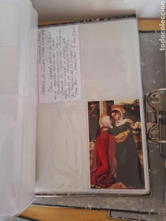Sellos: Colección de postales de pinturas de pintores 5 tomos - Foto 18 - 129976350